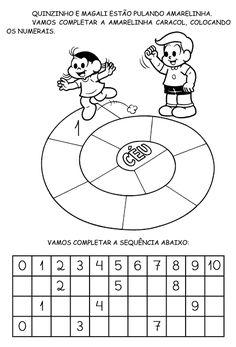 Alfabetizando com Mônica e Turma: Sequencia Numérica