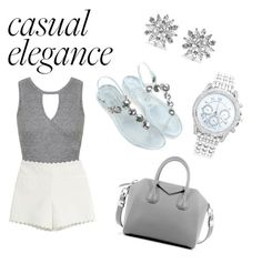 """""""Esmirie casual"""" by lisamarieweideman on Polyvore featuring Lane Bryant, Kenneth Jay Lane, Miss Selfridge, Moschino Cheap & Chic and Givenchy"""