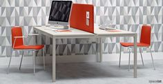 Noa grey meeting chair / ORDER NOW FROM SPACEIST