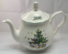 Nikko Happy Holidays - Very popular.  I have the place-settings but no pitcher! /rh