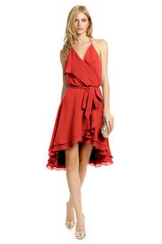 Salsa Dance Dress - graceful and classy red dress for date night: make a first impression!