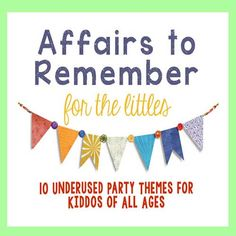 10 Party themes for Kids