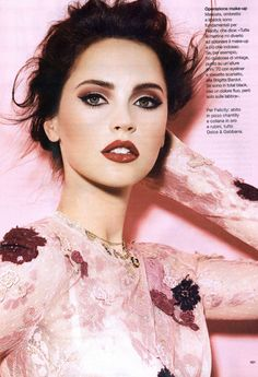 Felicity Jones Glamour Italia, March 2012