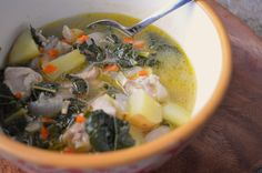 Week 4-60 minutes. Fresh chard packs a nutritious punch while herbs, garlic, peppers & lemon meld together perfectly in this delicious Paleo Chicken, Yam and Chard Soup recipe