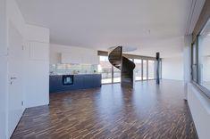 Aussergewöhnliche 5.5 Maisonette-Wohnung im St. Johann-Quartier in Basel zu vermieten!