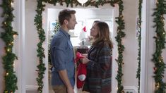"""Jenna Hudson (Bethany Joy Lenz, """"Colony"""") and Kevin Jenner (Andrew Walker, """"A Bride for Christmas"""") are polar opposites, working for the same online publication..."""