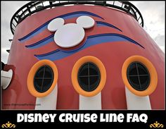 Disney Cruise Line FAQ www.themouseforless.com