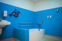 Tub room, Children's Patient Floor, Renown Children's Hospital, Reno, NV.