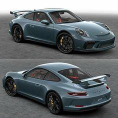 The new Porsche GT3