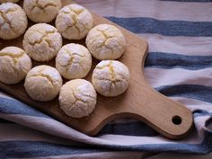 Lemon Curd, Crinkles, Sweet Recipes, Ham, Good Food, Food And Drink, Sweets, Bread, Cookies