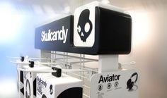skullcandy 01 display shopfitting warenpräsentation