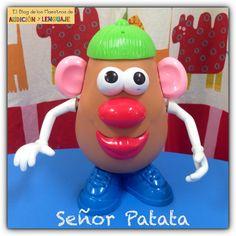 Cuento del señor patata para trabajar los 5 sentidos.  http://blogdelosmaestrosdeaudicionylenguaje.blogspot.com.es/2014/02/actividades-para-trabajar-la-figura.html