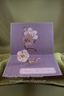 Gott Heart Art: Spiral PopUp Flowers