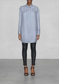 & Other Stories silk and wool blend coat #spring2014