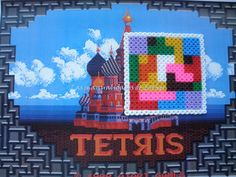 Posavasos Tetris Hama Beads