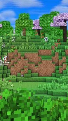 Minecraft Shops, Minecraft Cottage, Easy Minecraft Houses, Minecraft House Tutorials, Minecraft City, Amazing Minecraft, Minecraft Tutorial, Minecraft Blueprints, Minecraft Creations