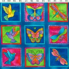 Flying Colors II by Laurel Burch