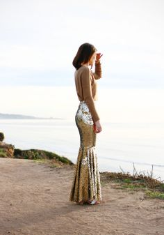 long sequin skirt.  no idea how/when this would be applicable in my life, but it's really cool!