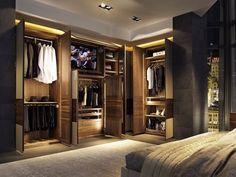 Šatny, šatní skříně a stojany