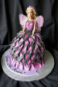 Barbie cake- @Karina Paje Paje Richardson
