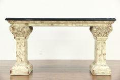 Stone sofa Table - Luxury Home Office Furniture Check more at http://www.nikkitsfun.com/stone-sofa-table/
