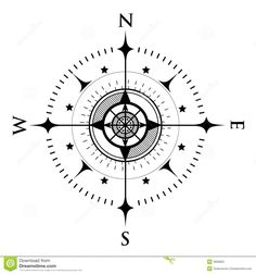 Compass Dial On White - Download From Over 55 Million High Quality Stock Photos, Images, Vectors. Sign up for FREE today. Image: 3606822