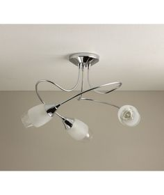 Ceiling Lights Argos: Buy Eterna 3 Light Ceiling Fitting - Silver at Argos.co.uk - Your,Lighting