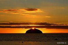 Ailsa Craig in the Firth of Clyde Curling Stone, Gaelic Words, Scottish Gaelic, West Coast Scotland, Paving Stones, Sea Birds, 16th Century, Granite, Acre