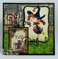 STAMP NAME:  Witch Willa    ARTIST:  Annie…