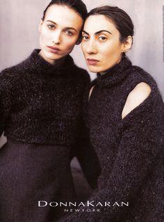Anh Duong by Peter Lindbergh - Donna Karan 1998
