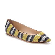 Quinnie Pointed Toe Flat Loeffler Randall