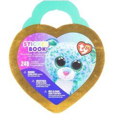 Beanie Boos® Glitter & Foil Sticker Book Leona™ The Leopard 248/Pkg