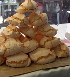 Melon meringue of Ca