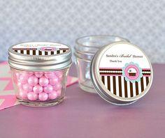 Cupcake Party Small 4 oz Mason Jars
