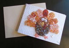 Oregon Coast Agates: Thanksgiving Blank Notecard - Agate Turkey by OregonCoastAgates on Etsy