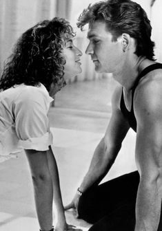 "Dirty Dancing 1987- ""Nobody puts Baby in a corner""  A classic line, from a classic movie"