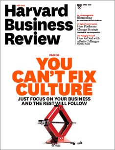 When organizations are in crisis, it's usually because the business is broken.
