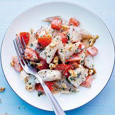 Fischsalat mit Tomaten