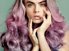 Purple balayage hair painting.  Be ready to try any 2016 Hairstyle Trend you want with an amazing Hair Vitamin!! hair.howtonow.org
