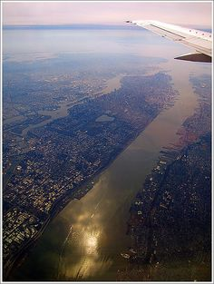 Almost the entire island of Manhattan and some Brooklyn and Jersey too...