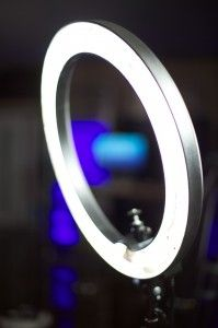 Diva Ring Light- lighting for videos