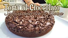 Biscotti, Pie Tops, Nutella, Small Cake, Food Videos, Vegan Vegetarian, Sweet Recipes, Carne, Delicious Desserts