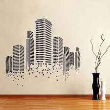 Image result for wall murals of buildings