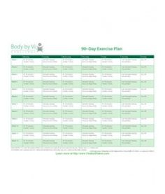 Body by Vi 90-Day Exercise Plan  Http://Petemendezdeleon.bodybyvi.com