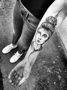 Take A Look At These Wild Sketch Tattoos