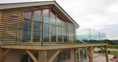 metal balcony - Google Search Glass Balcony, Bannister, Balconies, Beautiful Homes, Deck, Gardens, Houses, Magic, Memories