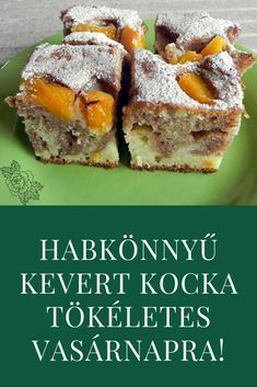 Fruit Recipes, Baby Food Recipes, Cake Recipes, Healthy Recipes, Spiked Eggnog, Classic Italian Dishes, Hungarian Recipes, Easy Weeknight Meals, Cake Cookies