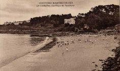 A Praia de Oza. Tarxeta postal