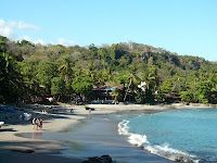 Montezuma, Costa Rica with Adam Jan 2004.