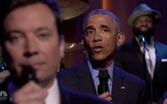 Obama Mocks Trump While Slow-Jamming the News with Fallon: 'Orange Is Not the New Black' - The Daily Beast
